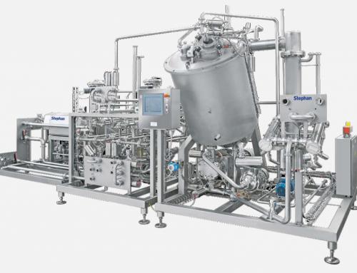 Produzione di formaggio fuso: sistema UHT STEPHAN