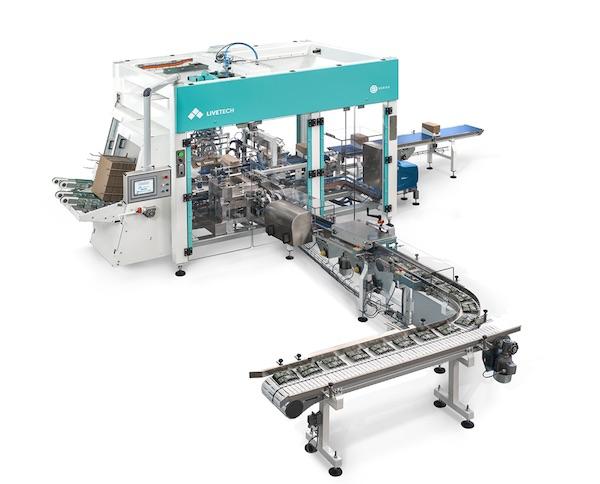 macchina confezionatrice LWA Livetech