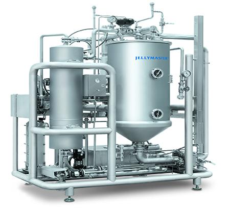 Sistema di cottura gelatine Jellymaster