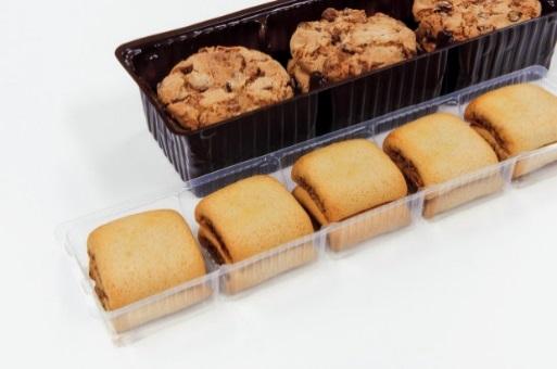biscotti impilati in piano