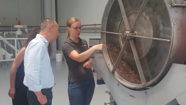 hDM lavorazione cioccolato test center