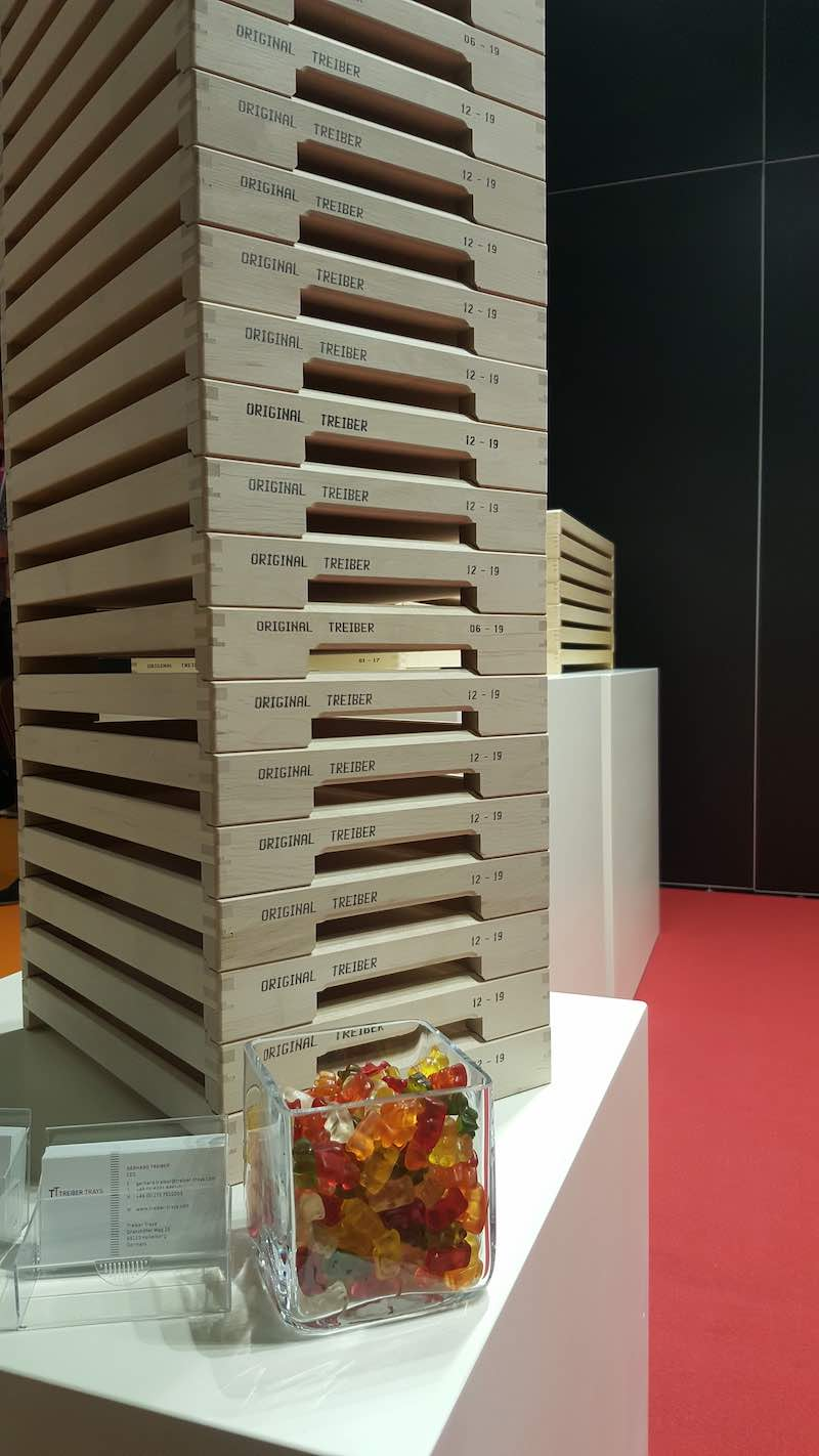 Treiber Trays at ProSweets2020