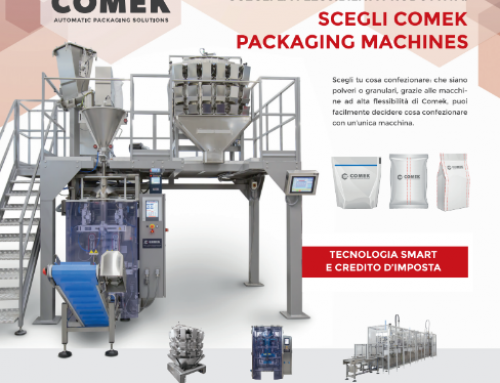 Comek: Packaging e Tecnologia