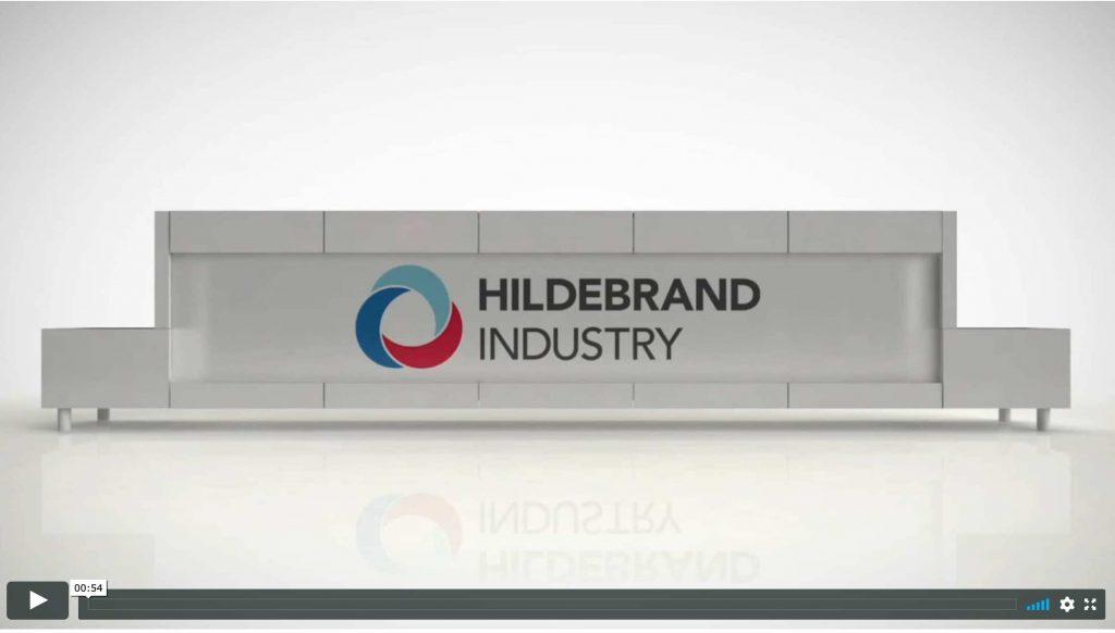 video sistema disinfezione mani industriale hildebrand
