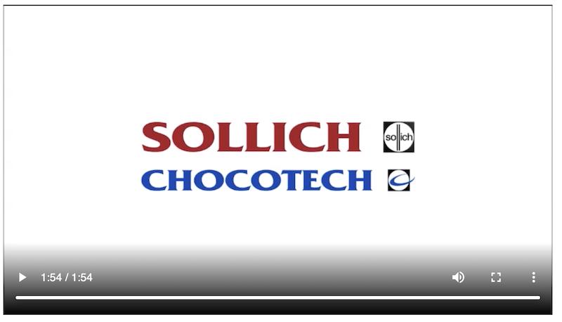 video sollich chocotec macchine cioccolato caramelle