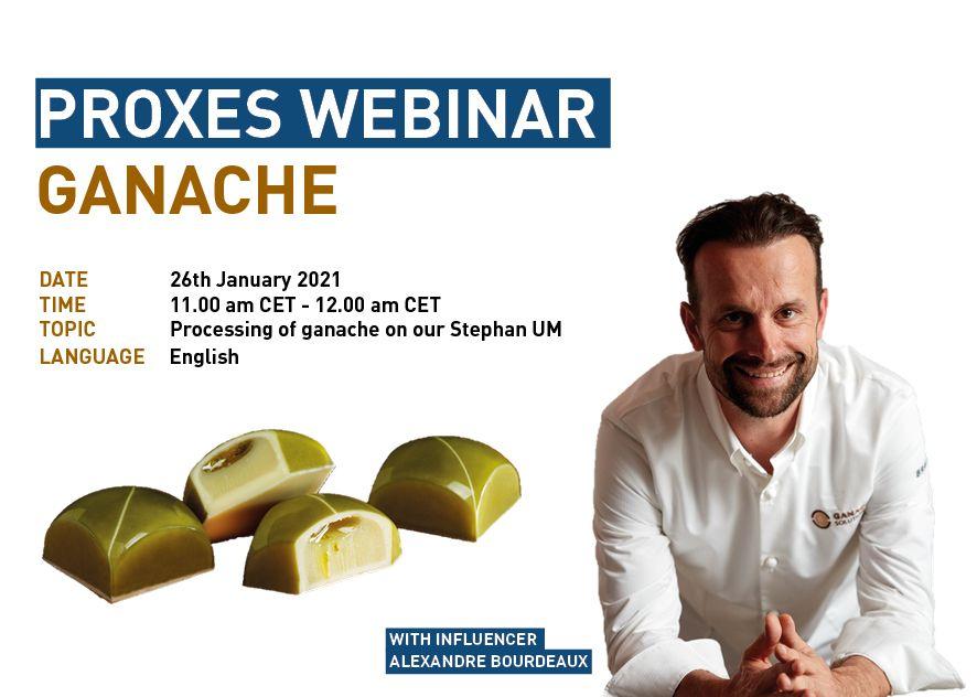 Stephan Machinery: seminario sulla preparazione delle ganache