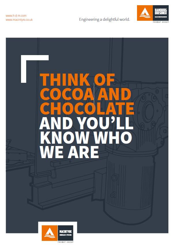 conca raffinatrice cioccolato macyntyre